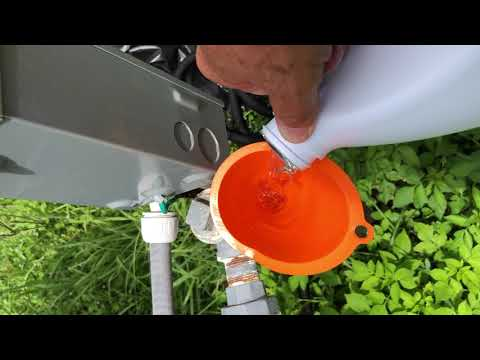 How To Disinfect a Well Water System part 2 Rapid Home Deals 352-480-0955