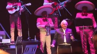 Vicente Fernandez, último concierto en Zacatecas