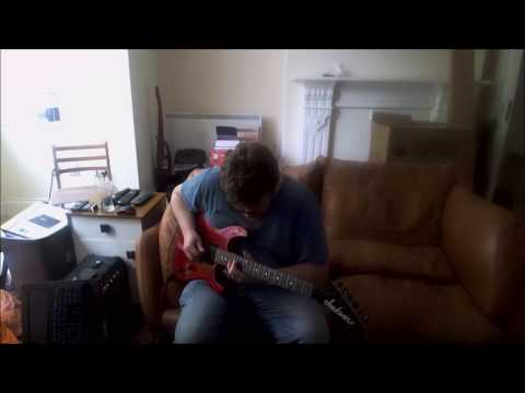 Gary Ludgate  -Made up Guitar tune -The Blue Ocean  -single lead guitar