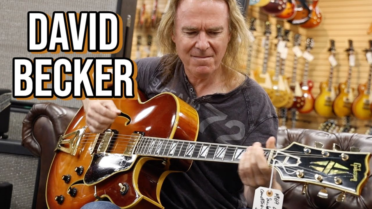 Download David Becker talks about his Theory, Style & Technique at Norman's Rare Guitars!