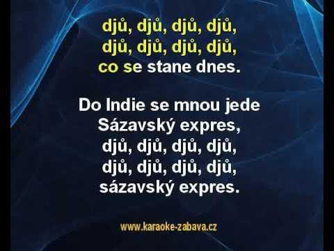Viktor Sodoma - Tygr z Indie (karaoke KLIP)