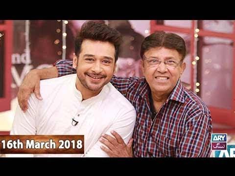 Salam Zindagi With Faysal Qureshi - 16th March 2018 - ARY Zindagi Drama