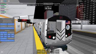 ROBLOX: Subway Testing Remastered - Operating R160A F Train to 21 St-Queensbridge