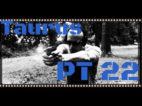 Taurus PT-22 22LR Handgun Review (HD)