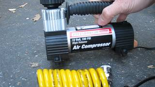 Pittsburg 12V air compressor