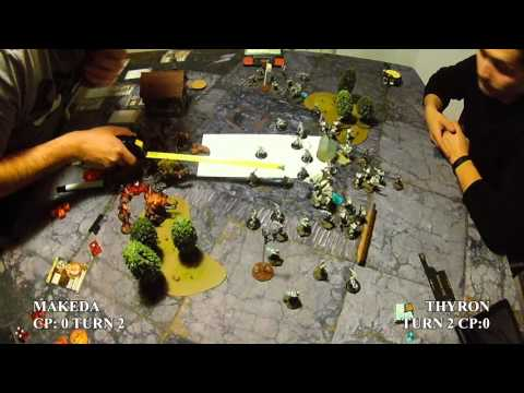 Steel Marrakos 1 - Skorne (Makeda & Exalted Court) Vs Scyrah (Thyron) -  50pt Battle Report