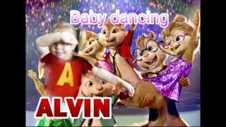 Элвин и Бурундуки поют лучшие хиты !! Ребенок жжет ! Таких танцев вы еще не видели .