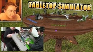 TROLLEOS CÓMICOS EN UN SIMULADOR DE JUEGOS DE MESA - Tabletop Simulator