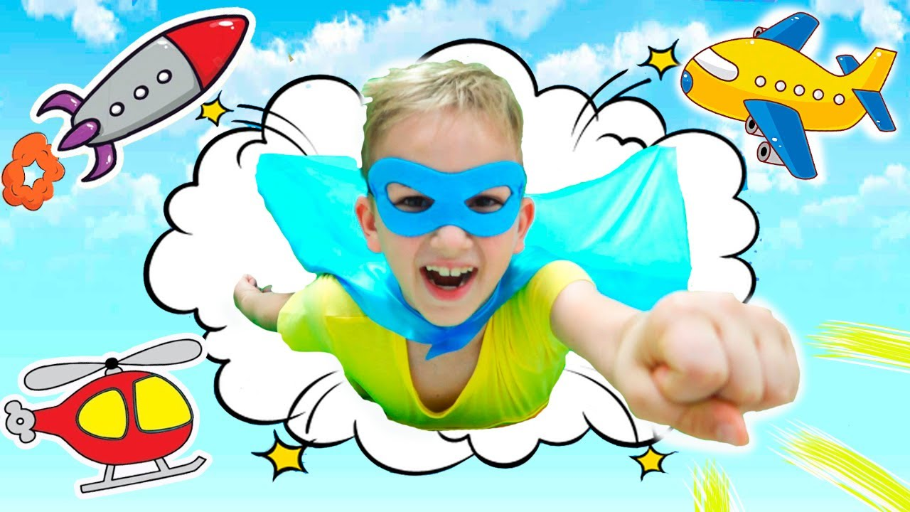 Vlad veut voler comme un super-héros