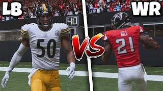 Team of Wide Receivers VS Team of Linebackers!! Best Position Tournament Round 2