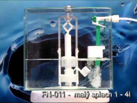 Napouštěcí ventil TNV 4 a vypouštěcí ventil FN-011