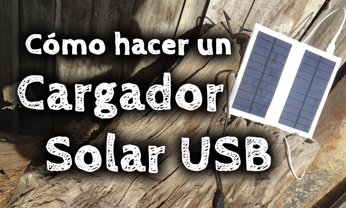 C mo hacer un cargador solar usb casero youtube - Como hacer un toldo casero ...