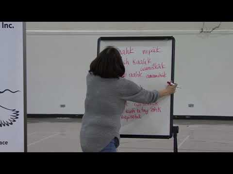 Saulteaux Language With Lynn Cote - CLASS #4 #LoveYourLanguage