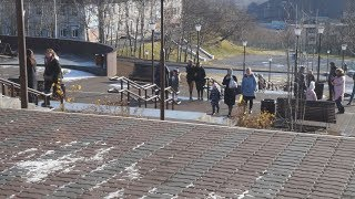Зеркальный и «Лава парк» в Петропавловске - открылись
