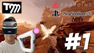 READY, AIM, VR!! - Farpoint #1 (Playstation VR)