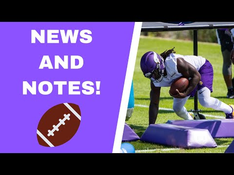 Vikings training camp notes: Dalvin Cook, cornerbacks and offensive line