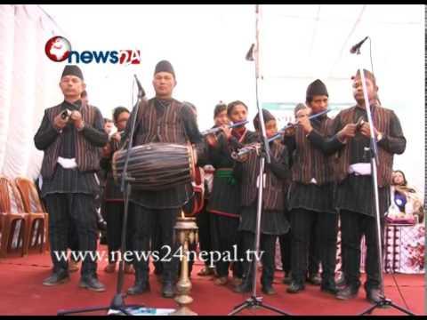 ललितपुरको ठेचो गाविस खुल्ला दिशा मुक्त क्षेत्र घोषणा - NEWS24 TV