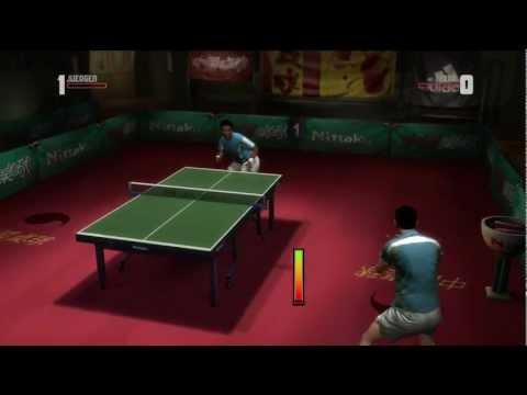 Rockstar Table Tennis - Serving Aces Juergen vs Jung Soo/Mark (Expert)