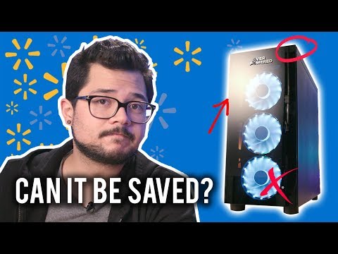 I FIXED EVERYTHING WRONG with Walmart's Gaming PC (almost)