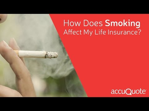 How Does Smoking Affect My Life Insurance Coverage & Quote?