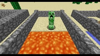 How to Fight and Protect Against Creepers - MCinstructabuilds