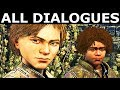 Justified AJ Attends The Funeral - All Dialogues - The Walking Dead Final Season 4 Episode 2