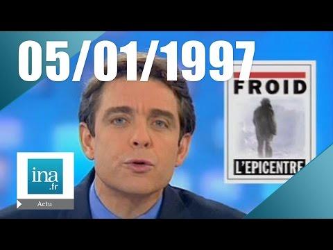 20h France 2 du 05 janvier 1997 - Froid sur la France   Archive INA