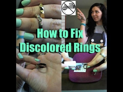 how-to-fix-discolored-rings!
