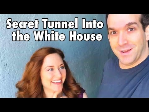 Secret Tunnel Into the White House #STIWH