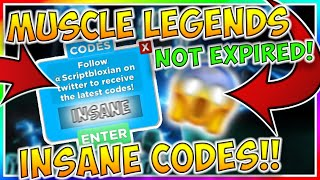 ALL MUSCLE LEGENDS CODES 2019! | Roblox Muscle Legends