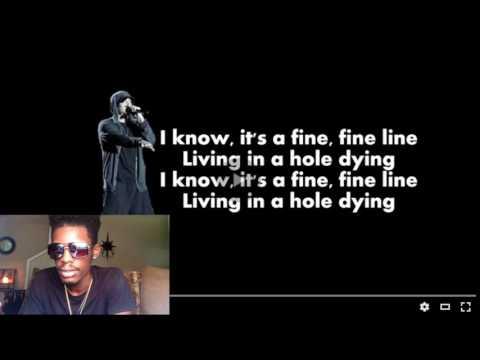 Eminem - Fine Line (Lyrics) | REACTION