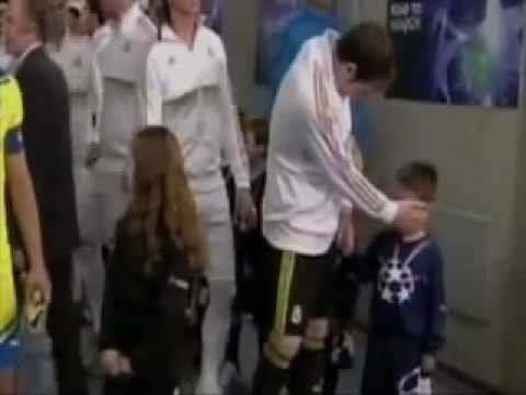 Iker Casillas before the match with APOEL FC