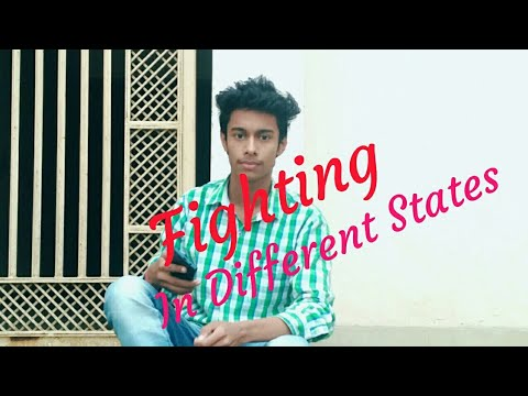 MAS vines |- Type of fight in different states Friend.. || Manish Chaudhary |...😎😎😎