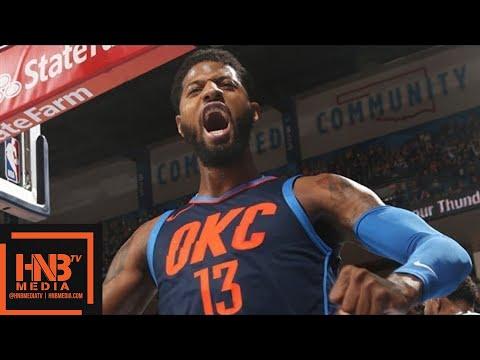 Oklahoma City Thunder vs Memphis Grizzlies Full Game Highlights / Feb 11 / 2017-18 NBA Season
