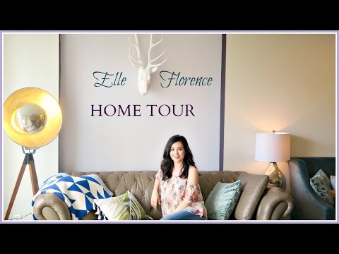 HOME TOUR | ELLE FLORENCE 2016 APARTMENT TOUR!