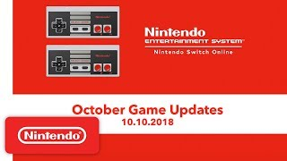 Nintendo Entertainment System - October Game Updates - Nintendo Switch Online