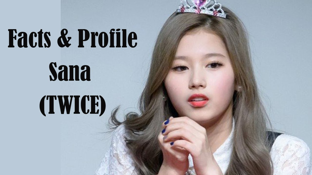 [K-POP] All facts & profile about Sana (TWICE)