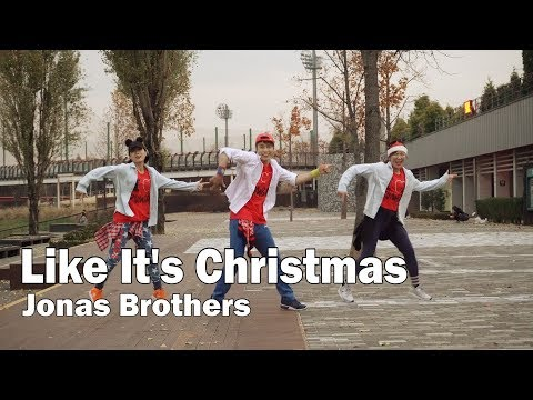 Like It's Christmas - Jonas Brothers / Zumba® / Diet / Dance / Choreography / ZIN™ / WZS CREW / Wook