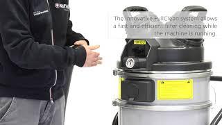Nilfisk VHS 110 Atex Industrial Vacuum at WB Floor Machines