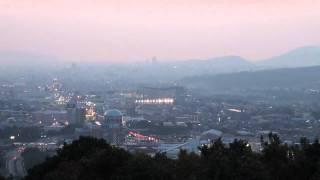 神園山からの夜景・熊本IC側(熊本県熊本市平山町)