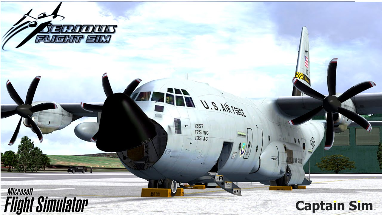 c130 flight simulator x