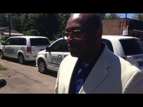 Birmingham Police describe scene of gas station homicide in broad daylight