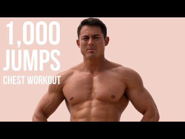 1,000 Jumps Workout: Chest Day