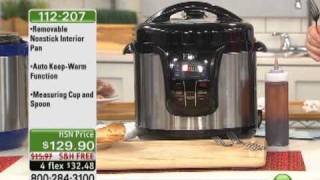 Elite 13-Function 8qt Electronic Pressure Cooker