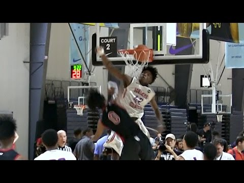 BEST Dunk of the Summer So Far?? Coby White Posterizes Defender