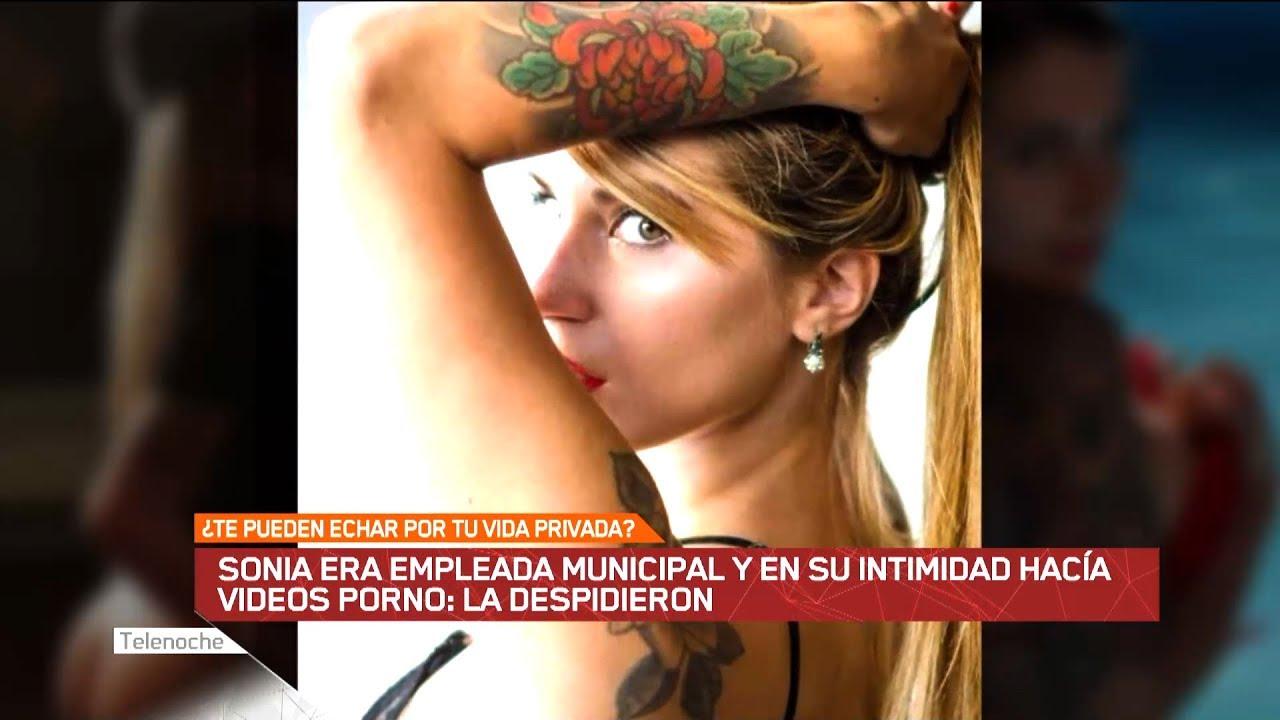 Actriz Porno Española Sonia sonia era empleada municipal y en su intimidad hacía videos porno: la  despidieron