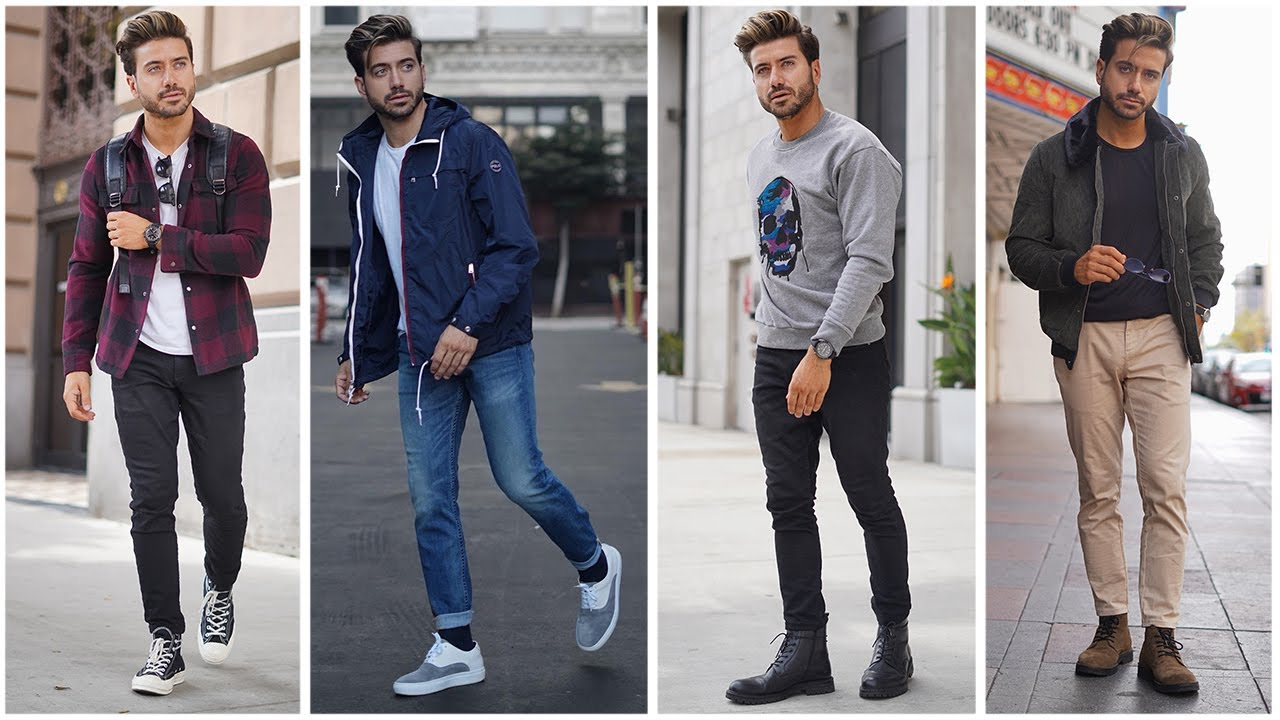 [VIDEO] - 5 Easy Men's Outfits For Fall | Fashion Inspiration Lookbook 2019 | Alex Costa 6