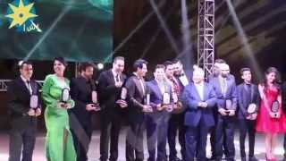 بالفيديو : تكريم سميحة ايوب ايهاب توفيق و احمد سعد وحكيم فى مونديال الاذاعة والتلفزيون
