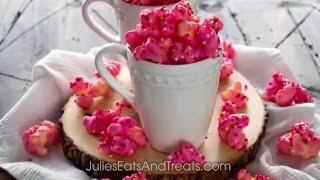 Puff Corn Valentines Snack Mix