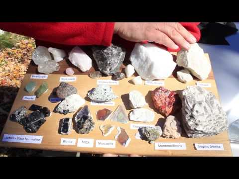 Part 2   Minerals And Gemstones Of South Western NH Mines